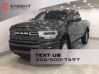 New 2019 RAM 2500 Laramie Crew Cab | Leather | Sunroof | Navigation | Sport Appearance | for sale in Regina, SK