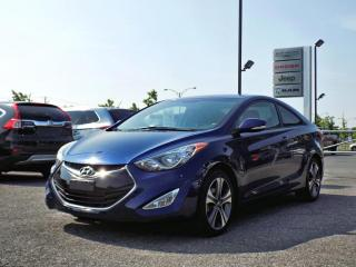 Used 2013 Hyundai Elantra COUPE *CUIR*TOIT* for sale in Brossard, QC