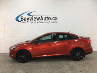 Used 2018 Ford Focus SEL - AUTO! BLACK WHEELS! SUNROOF! + MORE! for sale in Belleville, ON