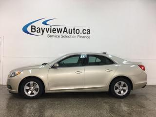 Used 2015 Chevrolet Malibu LS - ONSTAR! A/C! CRUISE! PWR GROUP! ALLOYS! for sale in Belleville, ON