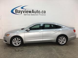 Used 2019 Chevrolet Impala 1LT - ONSTAR! LEATHER TRIM! MY LINK! ALLOYS! + MORE! for sale in Belleville, ON