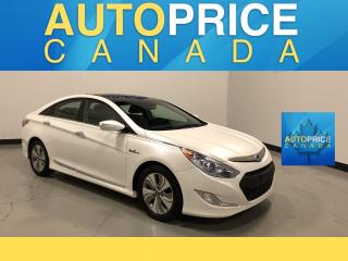 Used 2015 Hyundai Sonata Hybrid Limited NAVIGATION|PANOROOF|LEATHER for sale in Mississauga, ON