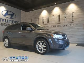 Used 2014 Dodge Journey R/T 7 PLACES+AWD+CUIR+DVD+CAMERA for sale in Sherbrooke, QC