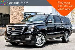 Used 2017 Cadillac Escalade ESV Platinum| for sale in Thornhill, ON