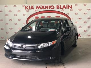Used 2012 Honda Civic LX A/C for sale in Ste-Julie, QC
