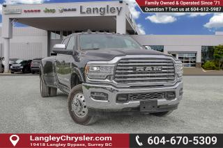 Used 2019 RAM 3500 Laramie Longhorn - Sunroof for sale in Surrey, BC