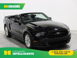 Used 2014 Ford Mustang CONVERTIBLE V6 for sale in St-Léonard, QC