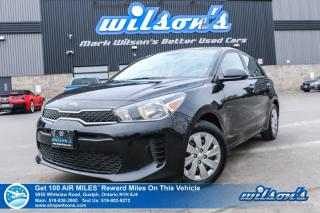 Used 2018 Kia Rio LX+ Hatchback, Automatic, Heated Seats, Bluetooth, Rear Camera and more! for sale in Guelph, ON