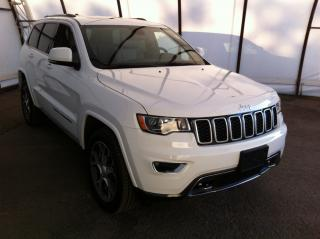 Used 2018 Jeep Grand Cherokee Limited 25th ANNIVERSARY EDITION, POWER SUNROOF, NAVIGATION, REAR PARK SENSE, REMOTE STARTER, HEATED STEERIN for sale in Ottawa, ON