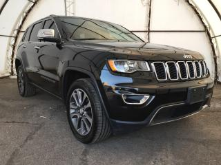 Used 2018 Jeep Grand Cherokee Limited BALANCE OF 5/100000KM CHRYSLER GOLD PLAN EXTENDED WARRANTY INCLUDED AT THIS PRICE, SUNROOF, NAVIGATI for sale in Ottawa, ON