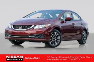 Used 2015 Honda Civic EX for sale in Montréal, QC