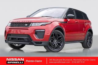 Used 2016 Land Rover Evoque HSE for sale in Montréal, QC