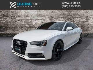 Used 2013 Audi A5 2.0T Premium S-Line, 6-Speed Manual, Navigation for sale in Woodbridge, ON