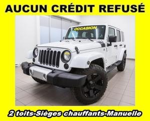 Used 2013 Jeep Wrangler SAHARA 4X4 MANUELLE SIÈGES CHAUFFANTS for sale in Mirabel, QC