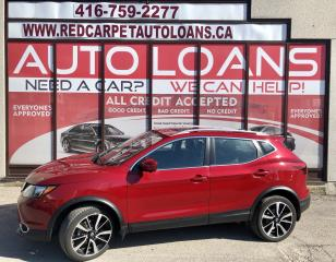 Used 2018 Nissan Qashqai SL-ALL CREDIT ACCEPTED for sale in Scarborough, ON