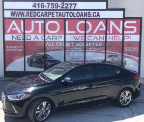 Used 2017 Hyundai Elantra GLS-ALL CREDIT ACCEPTED for sale in Scarborough, ON