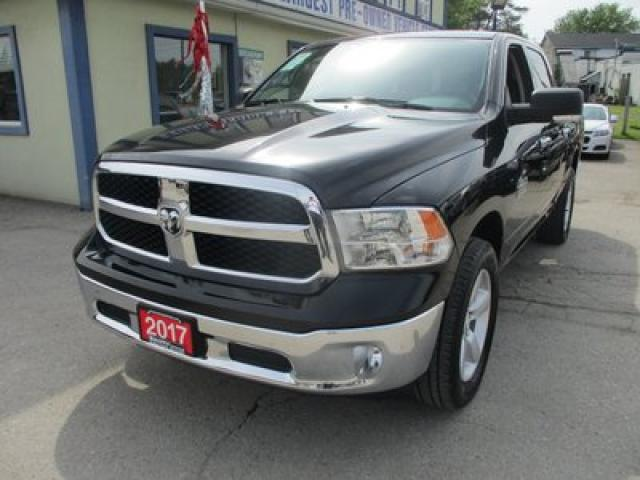 2017 Dodge Ram 1500 LIKE NEW SLT EDITION 6 PASSENGER 3.6L - V6.. 4X4.. CREW.. SHORTY.. NAVIGATION.. HEATED SEATS.. BACK-UP CAMERA.. BLUETOOTH..
