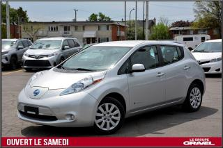 Used 2016 Nissan Leaf S Charge Rapide for sale in St-Léonard, QC
