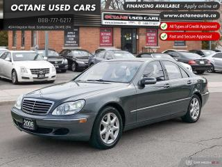Used 2006 Mercedes-Benz S-Class LWB S 430! Accident Free! Service Records! for sale in Scarborough, ON