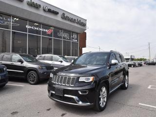 Used 2016 Jeep Grand Cherokee Summit NAVI/DUAL-PANE SUNROOF/AIR RIDE SUSPENSION for sale in Concord, ON