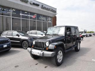 Used 2010 Jeep Wrangler Unlimited Sahara NAVI/UCONNECT/6 SPEED for sale in Concord, ON