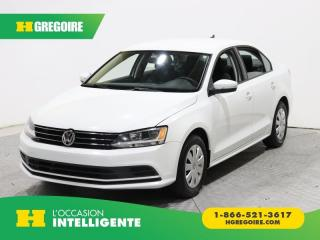 Used 2015 Volkswagen Jetta TRENDLINE+ A/C GR for sale in St-Léonard, QC