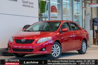 Used 2010 Toyota Corolla Le A/c for sale in Lachine, QC
