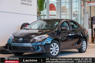 Used 2016 Toyota Corolla Le A/c for sale in Lachine, QC