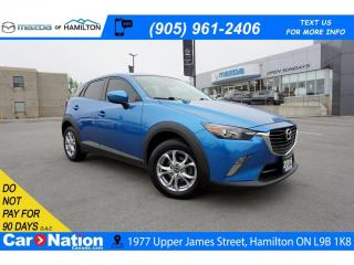Used 2016 Mazda CX-3 GS | LEATHERETTE | REAR CAM | SUNROOF for sale in Hamilton, ON
