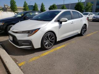 New 2020 Toyota Corolla XSE Call Now For Special Demo Pricing for sale in Etobicoke, ON