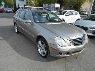 Used 2007 Mercedes-Benz E350 FAMILIALE ** CUIR,TOIT,SIEGES CHAUFF.B for sale in Montréal, QC