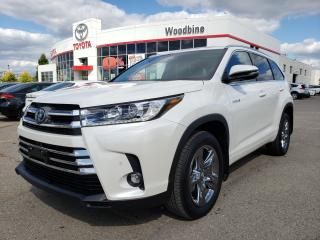 Used 2019 Toyota Highlander HYBRID Limited Call Now For Special Demo Pricing for sale in Etobicoke, ON
