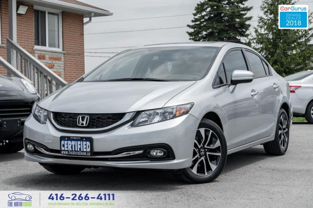 2015 Honda Civic EX 1OWNER WARRANTY CERTIFIED SERVICED SUNROOF FOGS