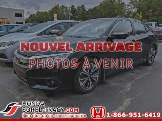 Used 2016 Honda Civic EX-T 4 portes CVT+GARANTIE PROLONGER for sale in Sorel-Tracy, QC