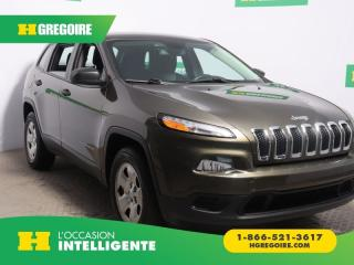 Used 2015 Jeep Cherokee Sport Awd A/c for sale in St-Léonard, QC