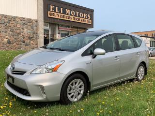 Used 2012 Toyota Prius v NAVIGATION/PANORAMIC  SUNROOF/REAR VIEW  CAMERA/BLUETOOTH/ALLOYS. for sale in North York, ON