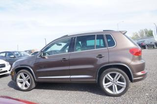 Used 2015 Volkswagen Tiguan Highline 4MOTION R-LINE for sale in Trois-Rivières, QC