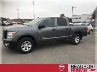 Used 2017 Nissan Titan S CREW CAB 4X4 ***46 500 KM*** for sale in Beauport, QC