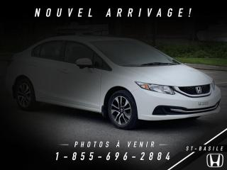 Used 2015 Honda Civic EX TOIT + BLUETOOTH + TOIT + CAMERA !! for sale in St-Basile-le-Grand, QC