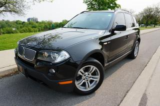 Used 2007 BMW X3 3.0i - IMMACULATE / CERTIFIED / BLACK BEAUTY for sale in Etobicoke, ON