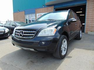 Used 2007 Mercedes-Benz ML-Class 4MATIC 4 portes de 3,5 L for sale in St-Eustache, QC