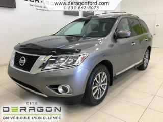 Used 2015 Nissan Pathfinder Sl Tech Pack Awd 7 for sale in Cowansville, QC