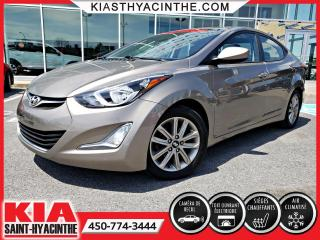 Used 2014 Hyundai Elantra GLS ** TOIT OUVRANT/ BLUETOOTH for sale in St-Hyacinthe, QC