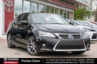 Used 2015 Lexus CT 200h F-Sport Series 2 for sale in Pointe-Claire, QC