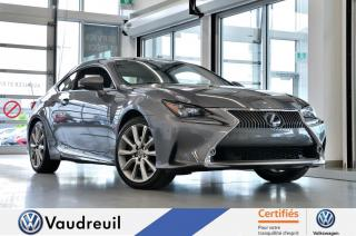 Used 2015 Lexus RC 350 * GROUPE EXECUTIF * MARK LEVINSON for sale in Vaudreuil-Dorion, QC
