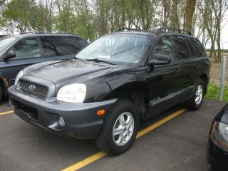 Used 2004 Hyundai Santa Fe VUS 4 portes GL traction intégrale 2,7 L for sale in St-Sulpice, QC