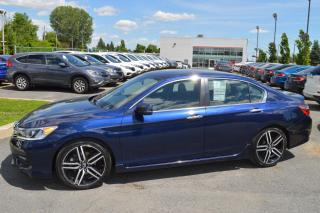 Used 2016 Honda Accord Sport ** Modèle rare ** for sale in Longueuil, QC