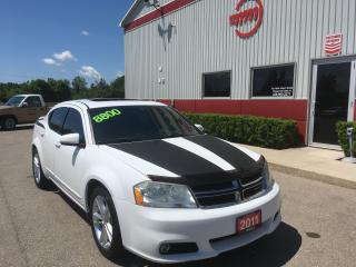 Used 2011 Dodge Avenger SXT for sale in Tillsonburg, ON