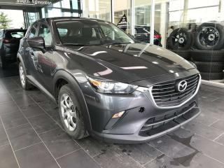 Used 2016 Mazda CX-3 GX, REAR VIEW CAMERA, TOGGLE DISPLAY, BLUETOOTH, KEYLESS IGNITION for sale in Edmonton, AB