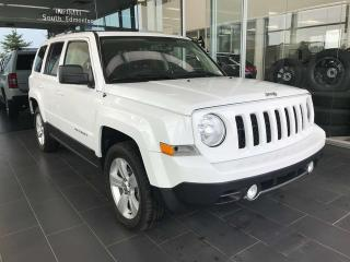 Used 2015 Jeep Patriot LIMITED, ACCIDENT FREE, HEATED LEATHER SEATS, TRUNK SPEAKER SYSTEM, BLUETOOTH for sale in Edmonton, AB